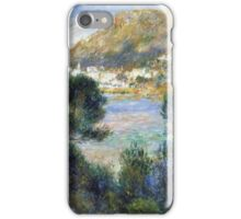 Renoir Auguste - View From Cap Martin Of Monte Carlo iPhone Case/Skin