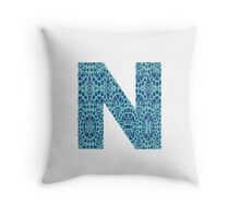 N Throw Pillow