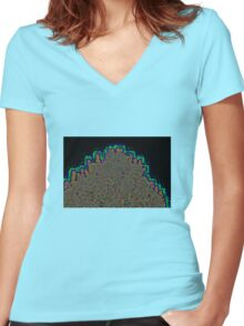 TOP O'THE TREE Women's Fitted V-Neck T-Shirt