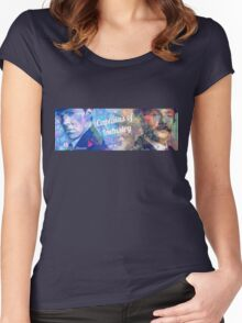Captains of Industry banner Women's Fitted Scoop T-Shirt