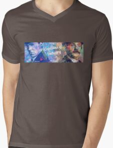 Captains of Industry banner Mens V-Neck T-Shirt