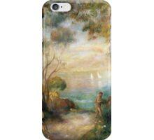 Renoir Auguste - A Garden In Sorrento iPhone Case/Skin