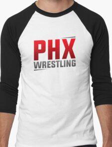 """PHX Wrestling - """"The Square"""" Men's Baseball ¾ T-Shirt"""