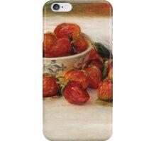 Renoir Auguste - Strawberries iPhone Case/Skin