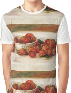 Renoir Auguste - Strawberries Graphic T-Shirt