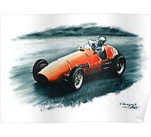 1952 Ferrari 500 F2 Poster