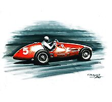 1953 Ferrari 500 F2 Photographic Print