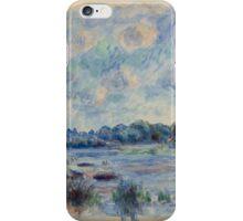 Renoir Auguste - Landscape At Beaulieu iPhone Case/Skin