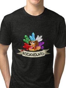 Rockhound Doggy Tri-blend T-Shirt