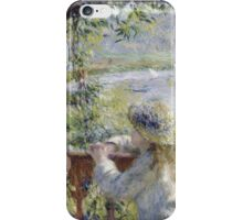 Renoir Auguste - By The Water iPhone Case/Skin