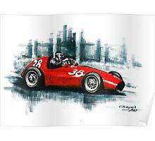 1954 Ferrari 553 Squalo Poster