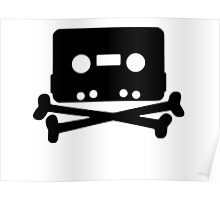 Pirate music tape Poster