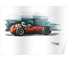 1955 Ferrari 555 Supersqualo Poster