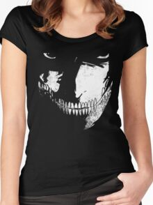 Titan Face Women's Fitted Scoop T-Shirt