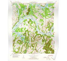 USGS TOPO Map Alabama AL Triana 305234 1948 24000 Poster