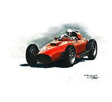1957 Ferrari 801 F1 Photographic Print