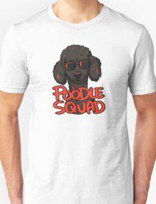BLACK POODLE SQUAD Unisex T-Shirt