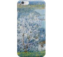 Michele Cascella - House By The Sea iPhone Case/Skin