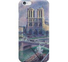 Maximilien Luce Notre-Dame De Paris  iPhone Case/Skin