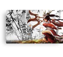 Blood Moon Akali - League of Legends Canvas Print