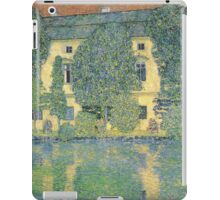 Klimt - The Schloss Kammer On The Attersee Iii iPad Case/Skin