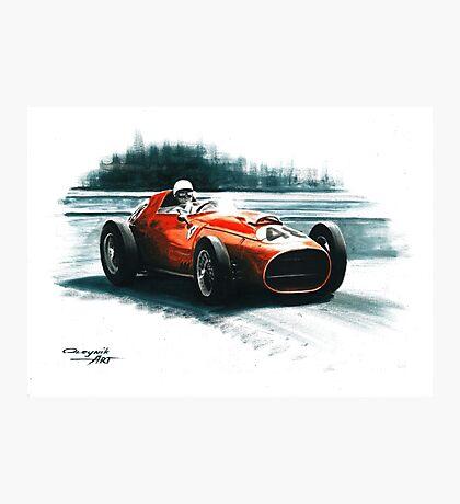 1959 Ferrari Dino 246 F1. GP Monaco Photographic Print