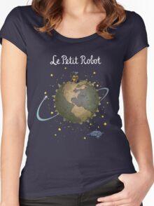Le Petit Robot Women's Fitted Scoop T-Shirt