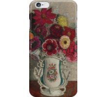 Leon De Smet - Vase Of Flowers  iPhone Case/Skin