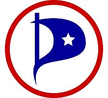 United States Pirate Party Photographic Print