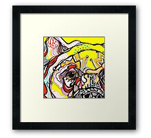 bears eye Framed Print