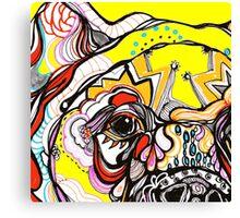 bears eye Canvas Print