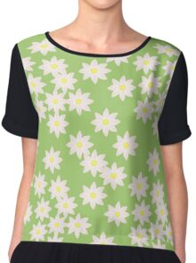 Pink Spring Florals  Chiffon Top