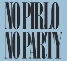 No Pirlo No Party One Piece - Short Sleeve