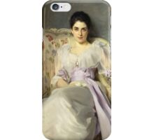 John Singer Sargent - Lady Agnew Of Lochnaw  iPhone Case/Skin