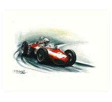 1961  Ferrari 156 F1 sharknose Art Print
