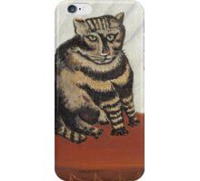 Henri Rousseau - The Tabby iPhone Case/Skin