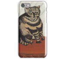 Henri Rousseau - The Tabby iPhone Case/Skin