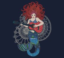 Musical Mermaid One Piece - Long Sleeve