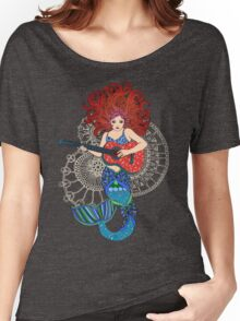 Musical Mermaid Women's Relaxed Fit T-Shirt