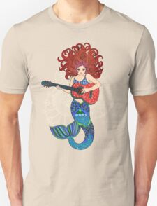 Musical Mermaid Unisex T-Shirt