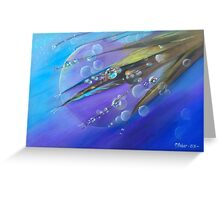 Etheric Dew Greeting Card