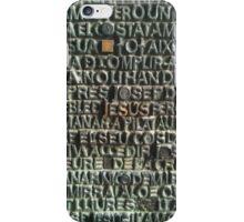 Jesus Sagrada Familia Cathedral Barcelona iPhone Case/Skin