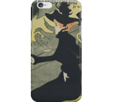Henri De Toulouse Lautrec - Divan Japonais iPhone Case/Skin
