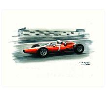 1964  Ferrari 158 F1 Art Print