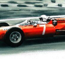 1964  Ferrari 158 F1 Sticker