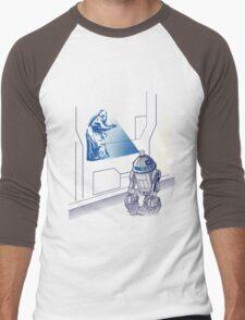 Graff Droid Men's Baseball ¾ T-Shirt