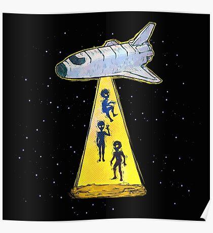 aliens kidnap Poster