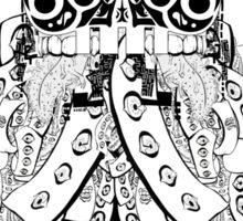 The Sermon of the TechnoSkull Sticker