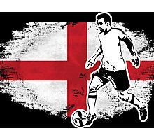 Soccer - Fußball - England Flag Photographic Print