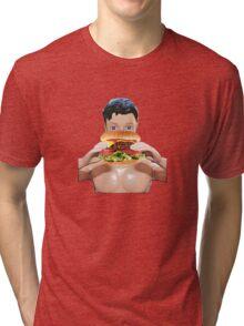 Burger Me! Tri-blend T-Shirt